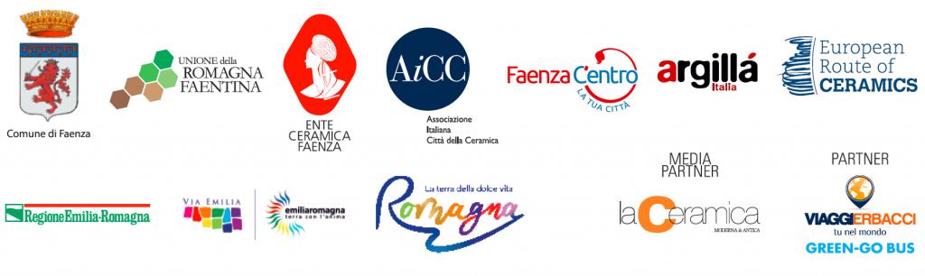 elenco loghi organizzatori e partner